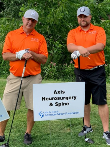 Participation and sponsor for the Kenmore Mercy Foundation Golf Tournament